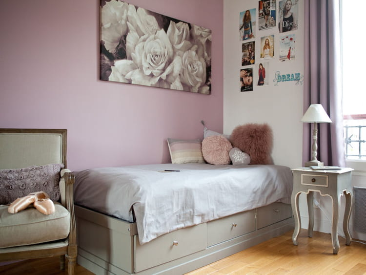 Decoration chambre fille danseuse for Chambre fille beige et mauve