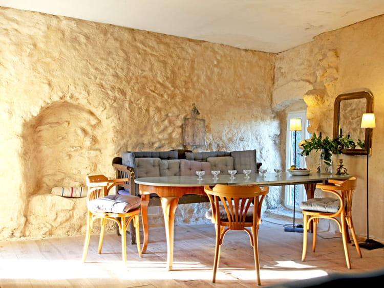 une salle manger en pierre maison en pierre des