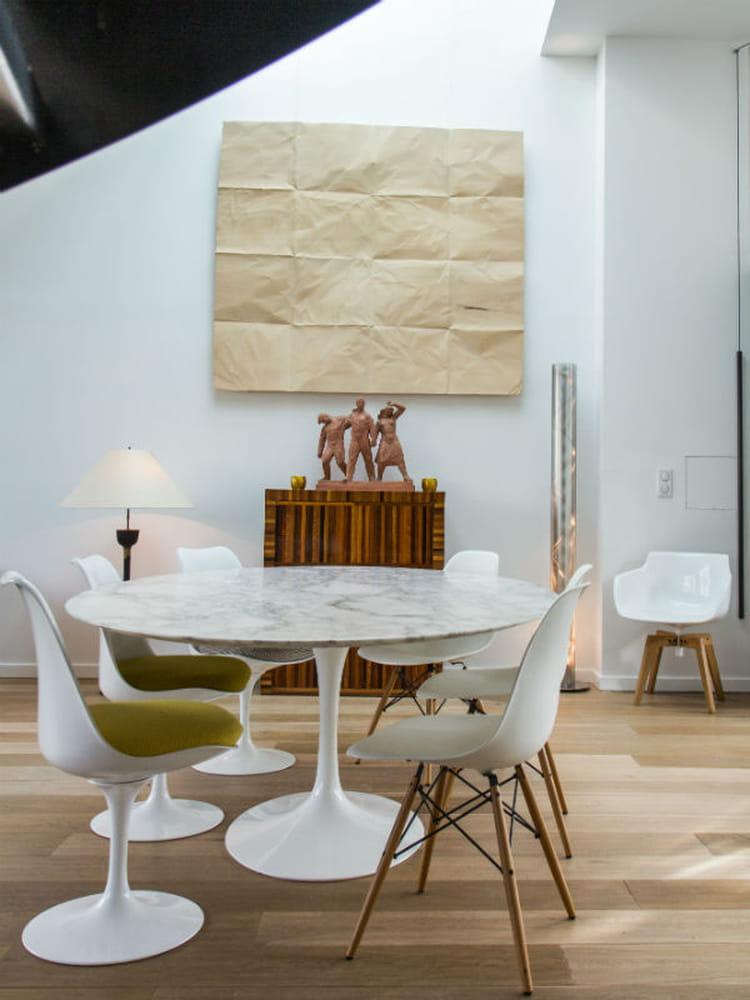 une d coration en trompe l 39 oeil d co murale l 39 art de la mise en sc ne journal des femmes. Black Bedroom Furniture Sets. Home Design Ideas