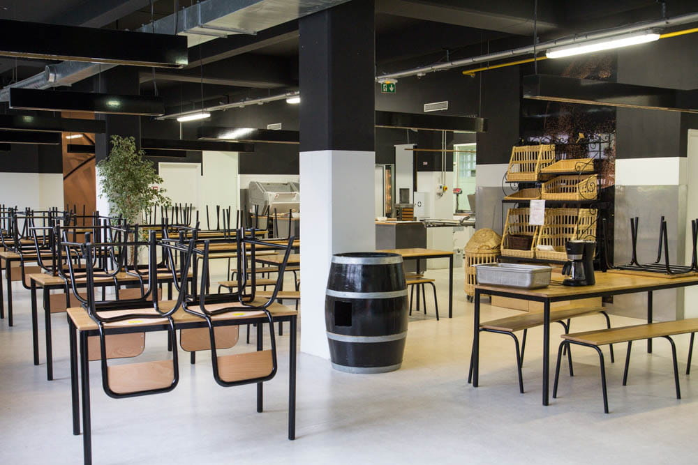 Un lieu convivial l 39 cole cuisine mode d 39 emploi s de - Ecole cuisine thierry marx ...