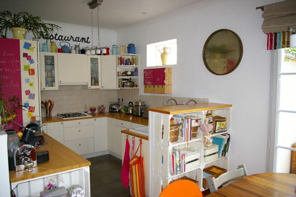 La cuisine ouverte visitez la maison de s verine - Deco maison cuisine ouverte ...