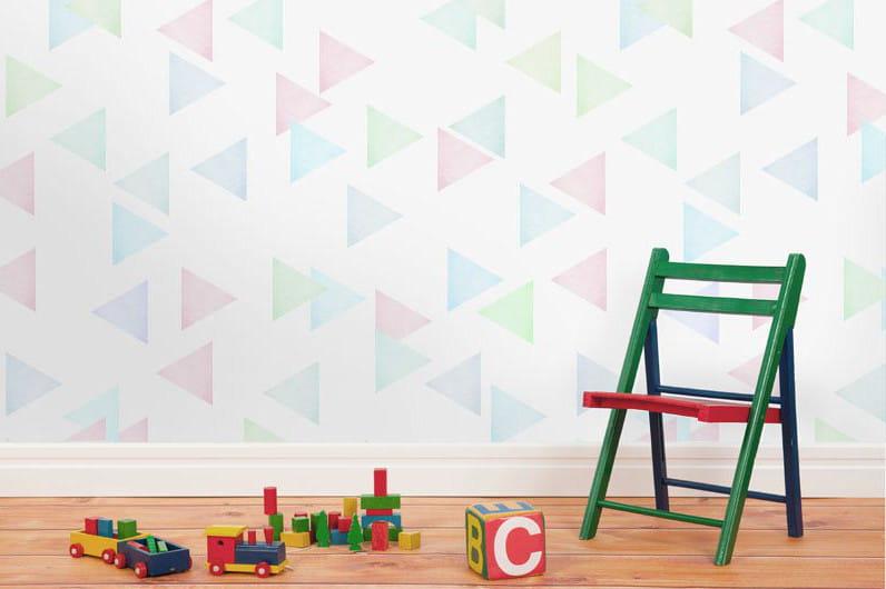 Papier peint balthazar de mues design chambre d 39 enfant for Papier peint chambre d enfant