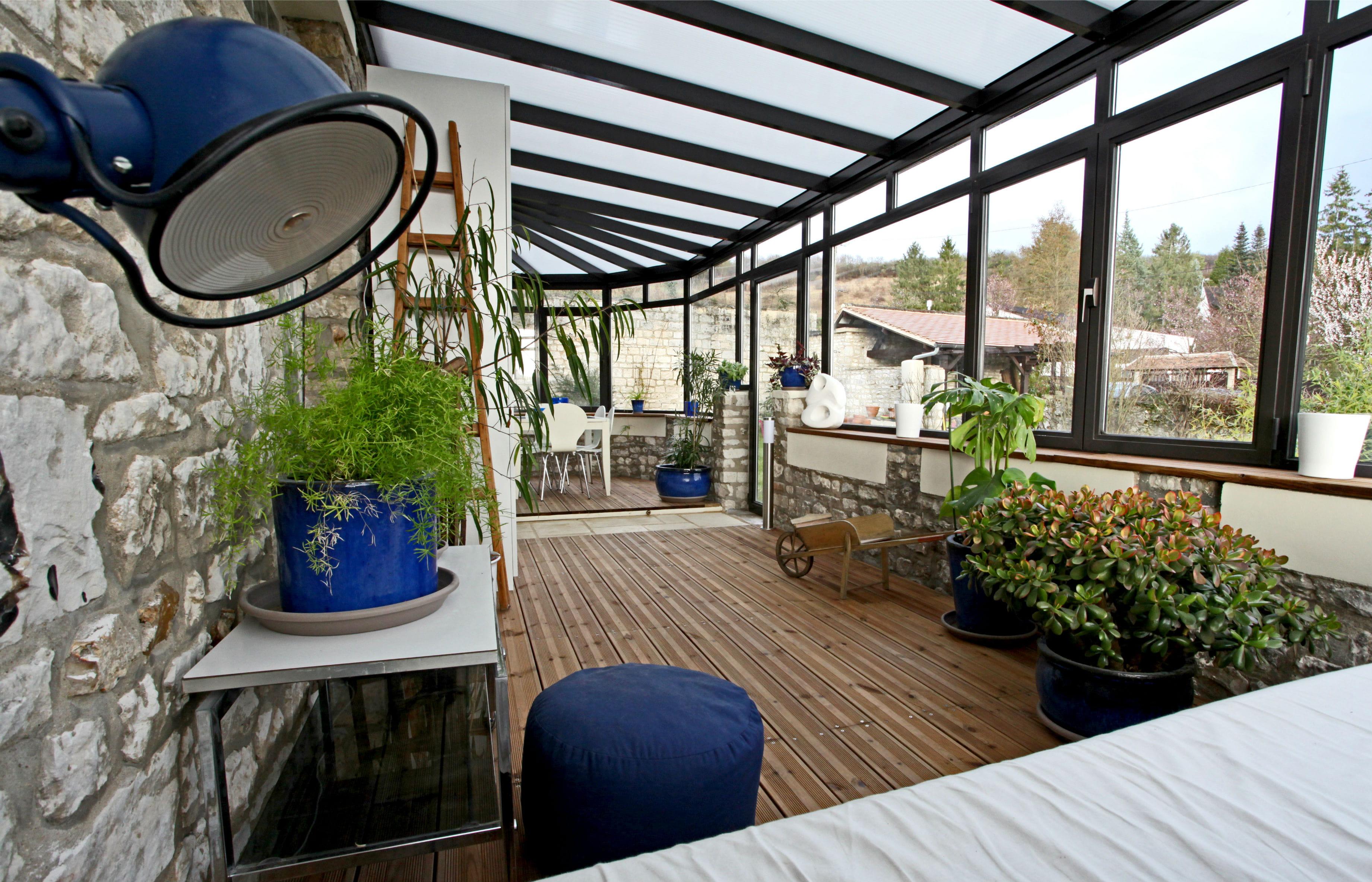 #49611B Une Nouvelle Pièce à Vivre : Des Vérandas Et Jardins D  4959 piece a vivre 50m2 3683x2367 px @ aertt.com