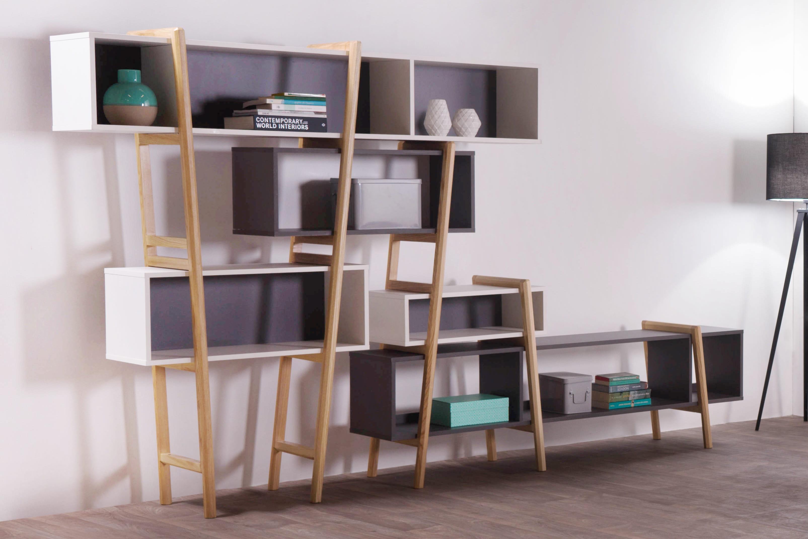 biblioth que design wood tang wood tang le mobilier. Black Bedroom Furniture Sets. Home Design Ideas