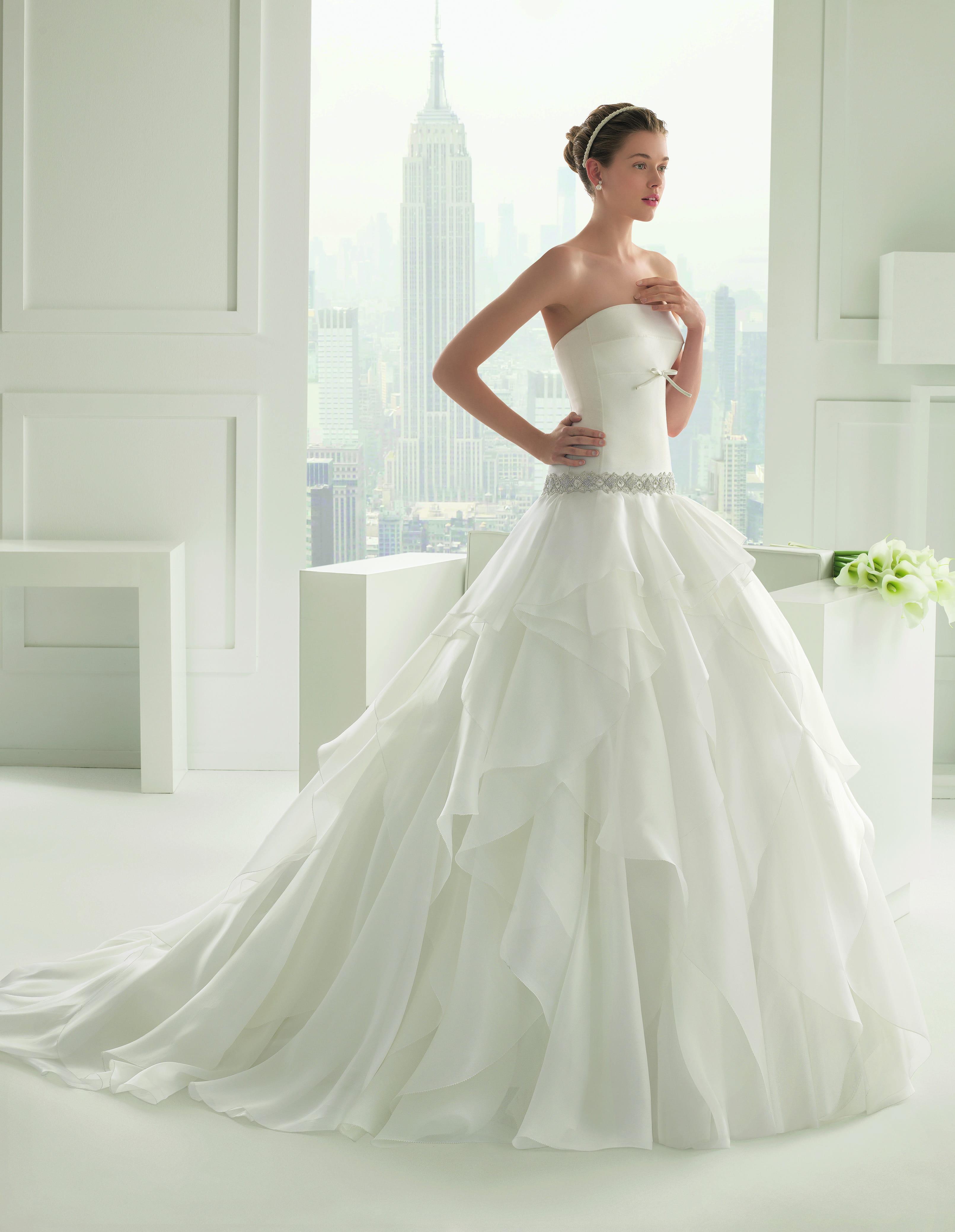 robe de mariée shelly de rosa clara des robes de mariée de princesse ...
