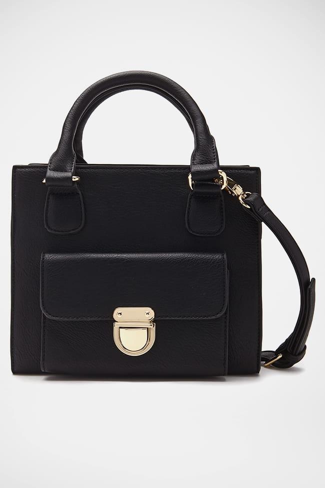 sac main noir de forever 21 prise la main dans le sac journal des femmes. Black Bedroom Furniture Sets. Home Design Ideas