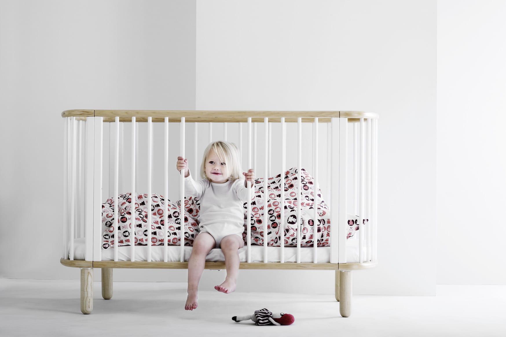 Lit de b b volutif de flexa 22 lits berceaux et autres couffins pour b b - Berceau bebe evolutif ...