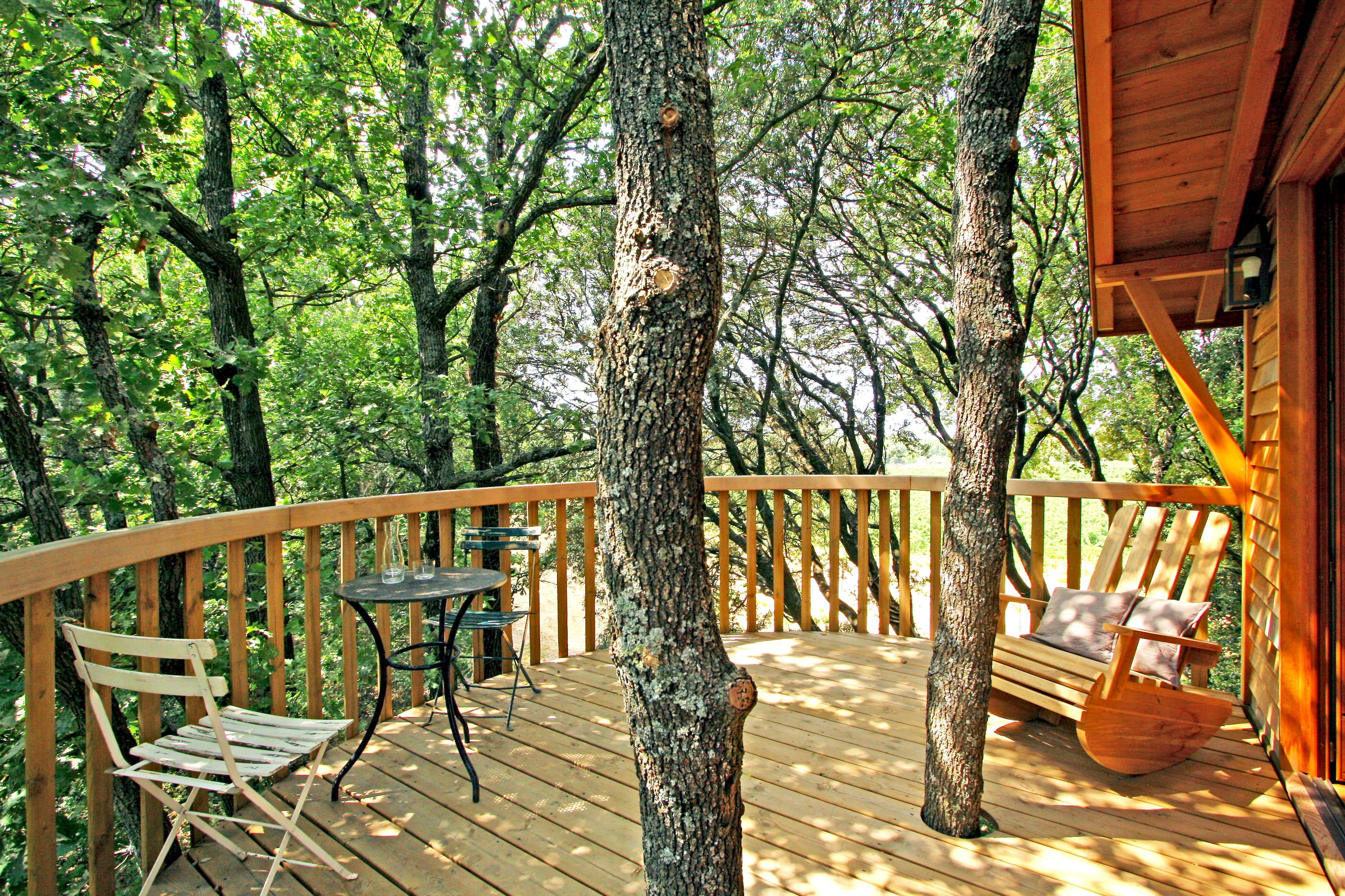 La terrasse orangée en cèdre  Terrasse en bois  26 idées à