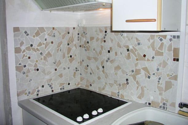 En mosa que des cr dences de cuisine qui ont du style - Decoration faience pour cuisine ...