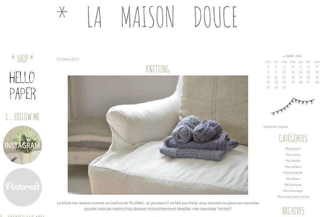 Le blog du moment la maison douce journal des femmes - La maison douce blog ...