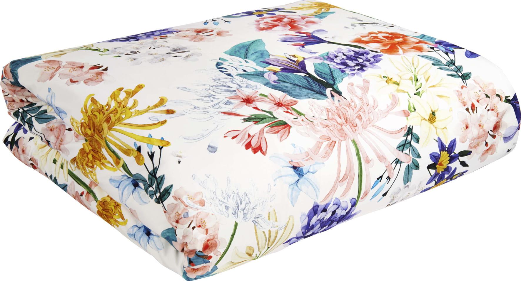 linge de lit fleurs d 39 habitat. Black Bedroom Furniture Sets. Home Design Ideas