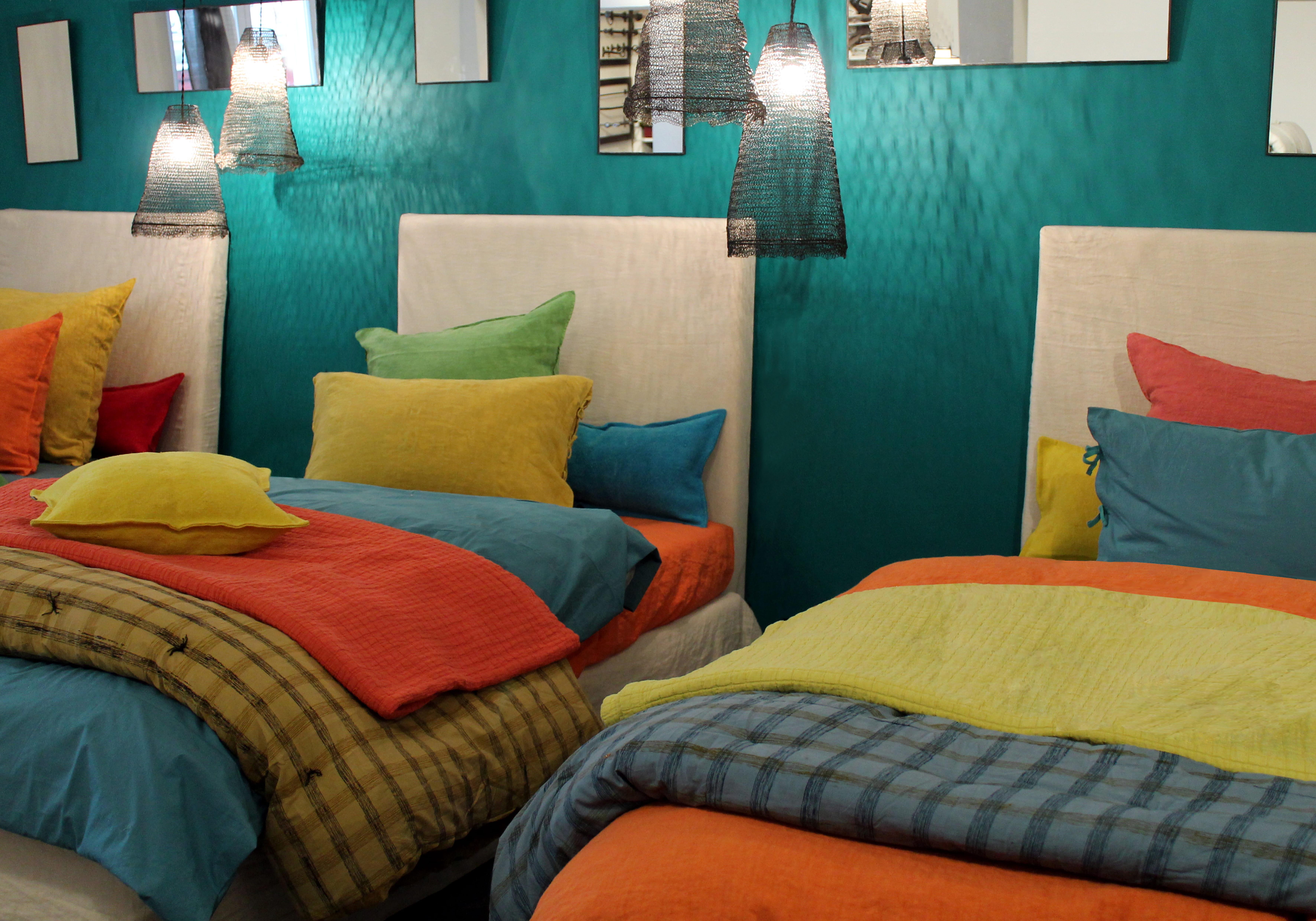 linge de lit en lin lav selena de caravane linge de lit. Black Bedroom Furniture Sets. Home Design Ideas