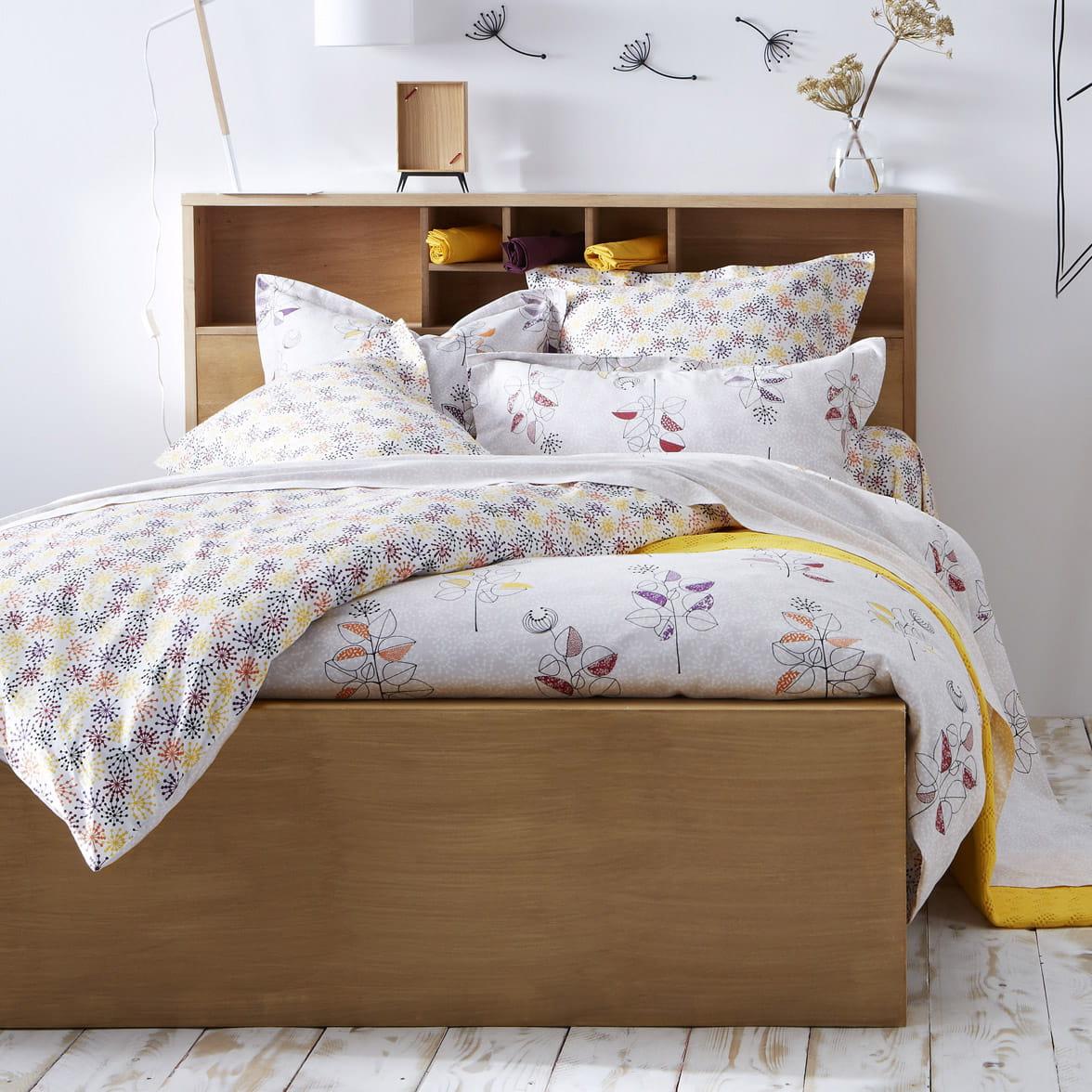 linge de lit branches et fleurs de tocade linge de lit a sent le printemps journal des. Black Bedroom Furniture Sets. Home Design Ideas