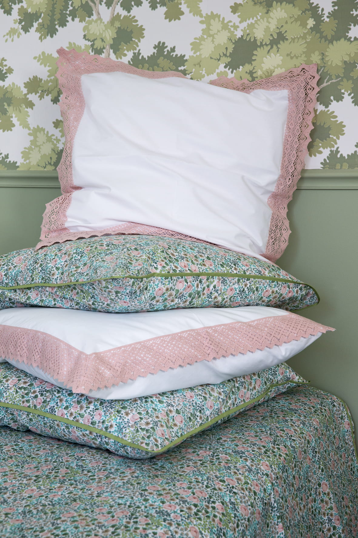Printemps linge de maison free awesome elegant lit drap lit belle parure de lit parure de drap - Collection bouchara linge de lit ...