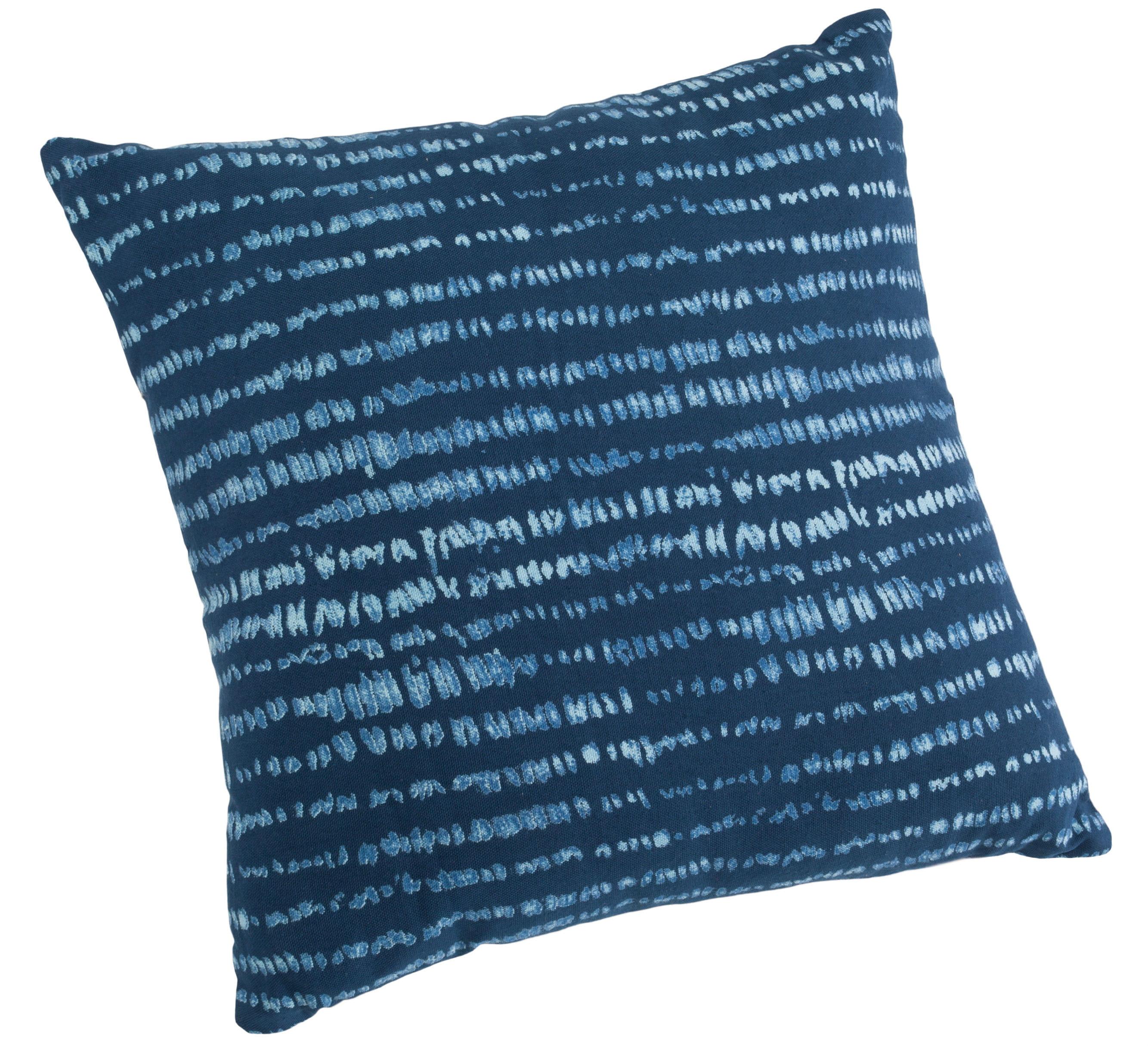 housse de coussin natte de la fiancee du mekong cap sur la d co indigo journal des femmes. Black Bedroom Furniture Sets. Home Design Ideas