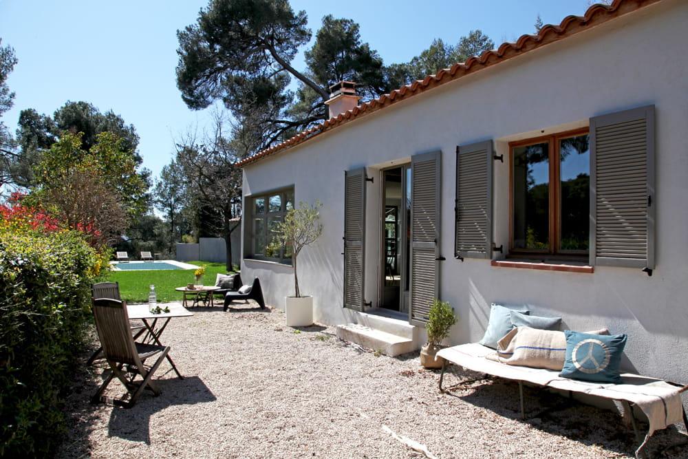 Une maison en pleine nature parenth se styl e dans une for Maison en pleine nature