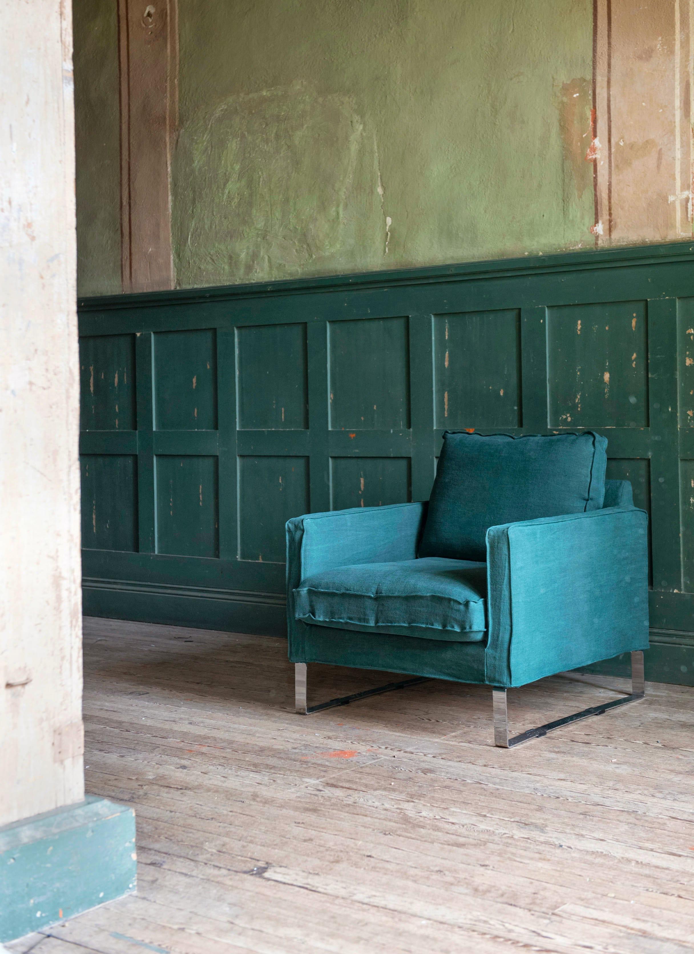 Housse de fauteuil melby d 39 ikea les nouveaux canap s ikea relook s par - Ikea fauteuil mellby ...