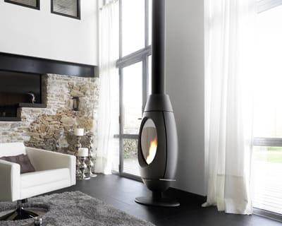 Poêle à bois Ove d'Invicta : Chauffage : les nouveautés ...