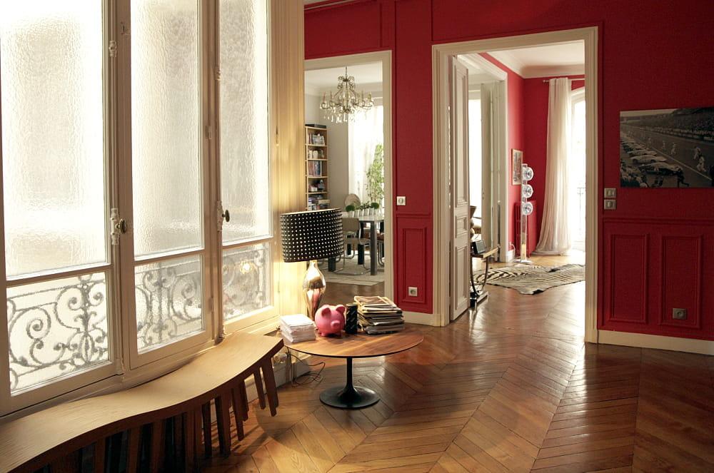 Une entr e design le home sweet home parisien d 39 une - Entree appartement design ...