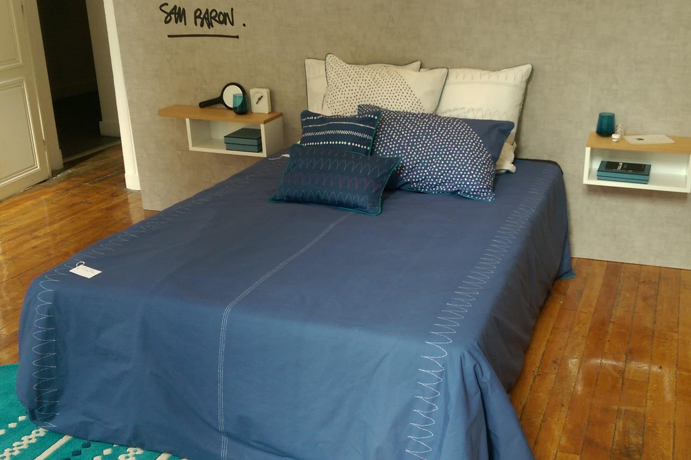 linge de lit bredig de sam baron la redoute int rieurs la collection automne hiver 2015 en. Black Bedroom Furniture Sets. Home Design Ideas