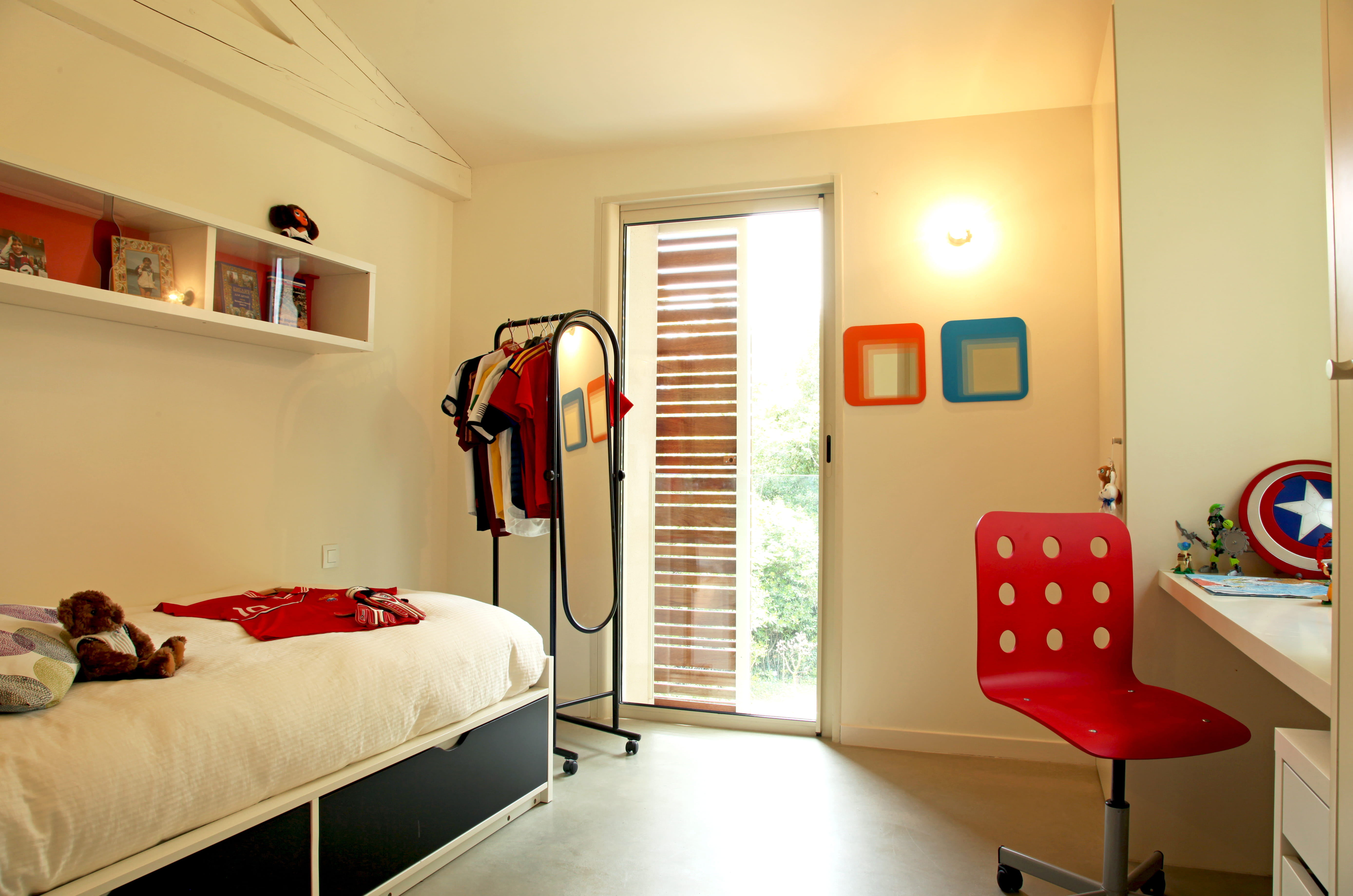 Deco Chambre Rouge - Fashion Designs