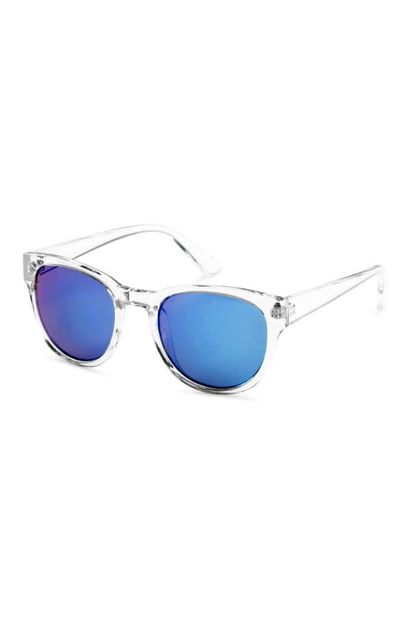 lunettes de soleil miroir de h m h m en 50 pi ces mode. Black Bedroom Furniture Sets. Home Design Ideas
