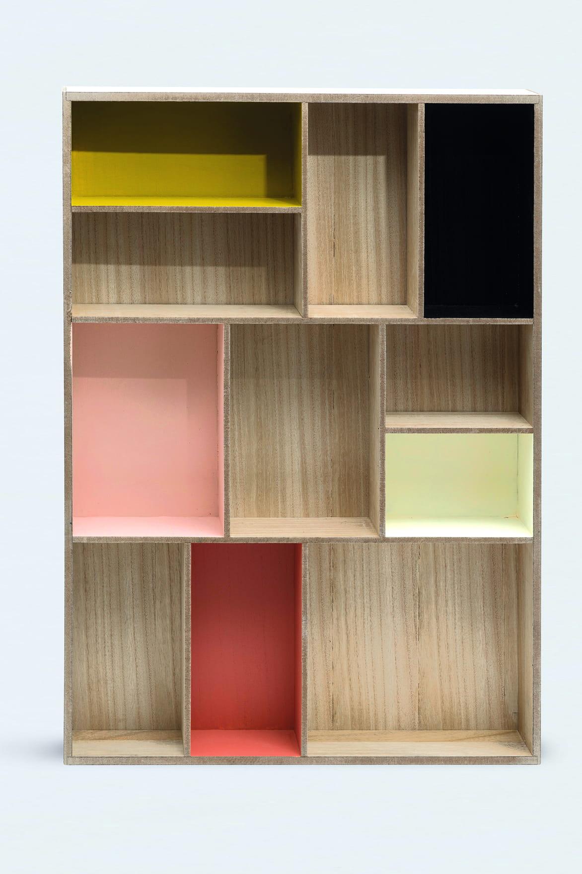 rangement multicases de monoprix tendance d co la mini. Black Bedroom Furniture Sets. Home Design Ideas