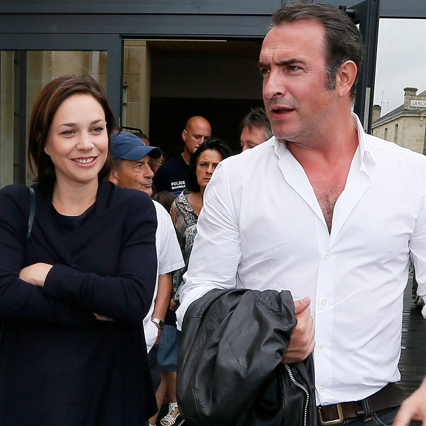Jean dujardin et nathalie p chalat bient t parents d for Jean dujardin pechalat