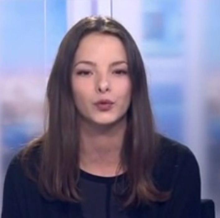 Lucie bouzigues journaliste pour france 2 est d c d e 26 ans journal des femmes - Journaliste femme france 2 ...