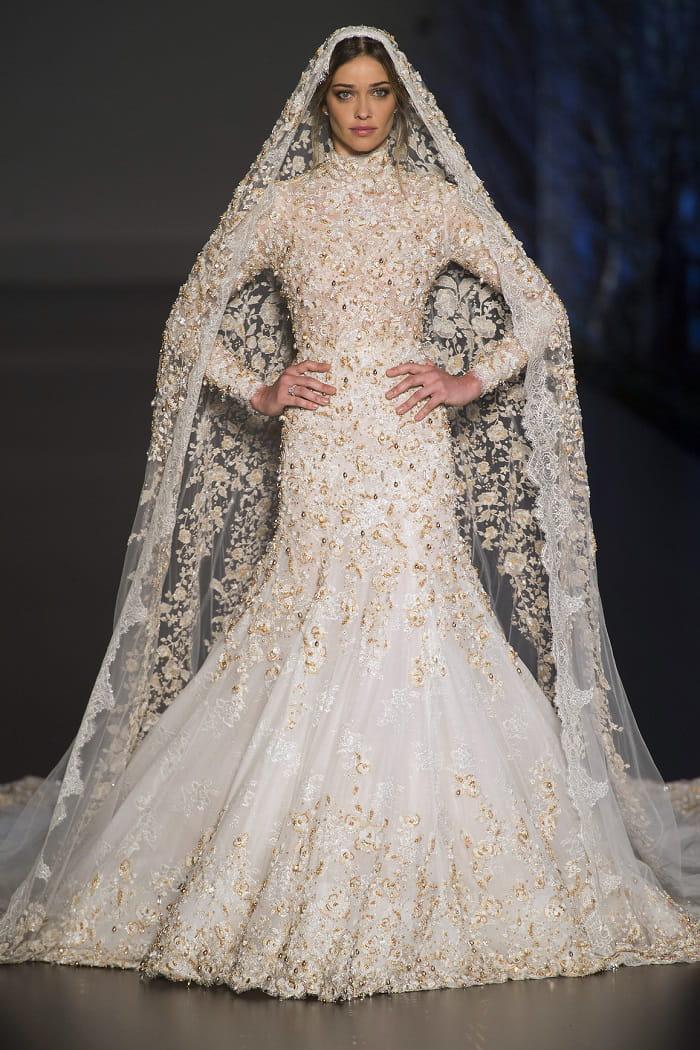 robe de mari e ralph russo majestueuse