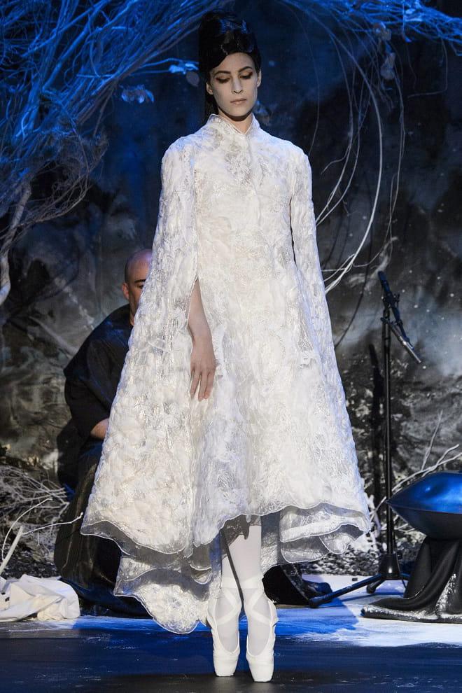 robe de mari e franck sorbier ballerine haute couture automne hiver 2015 les plus belles. Black Bedroom Furniture Sets. Home Design Ideas
