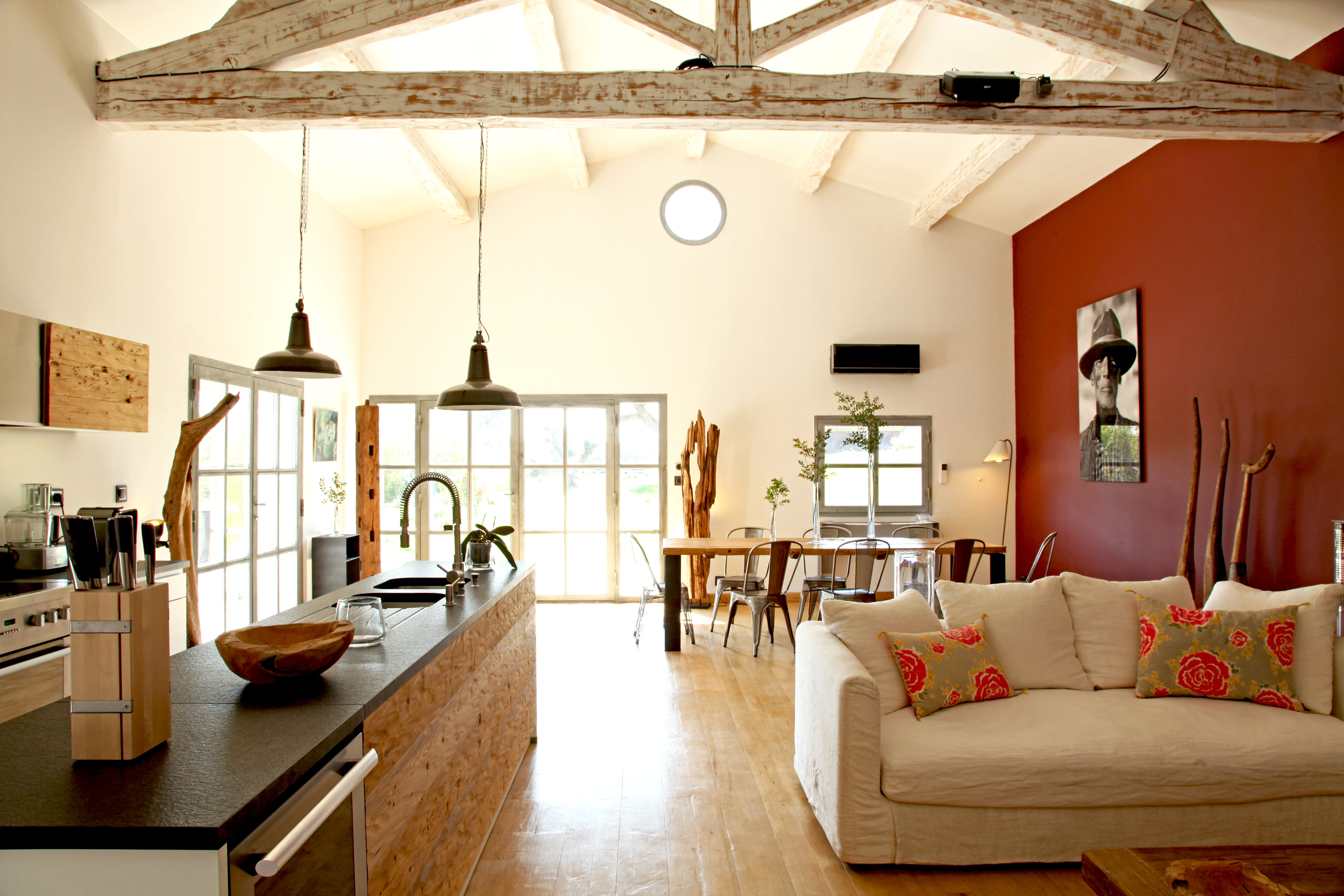 Chambre A Coucher Adulte Bois Blanc : Indogatecom  Salon Ambiance Moderne