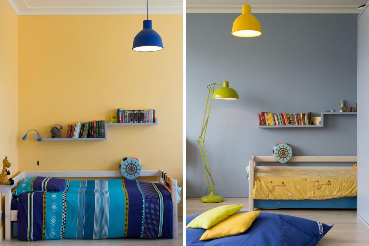 Chambre Garcon Double ~ Idées de Décoration et de Mobilier