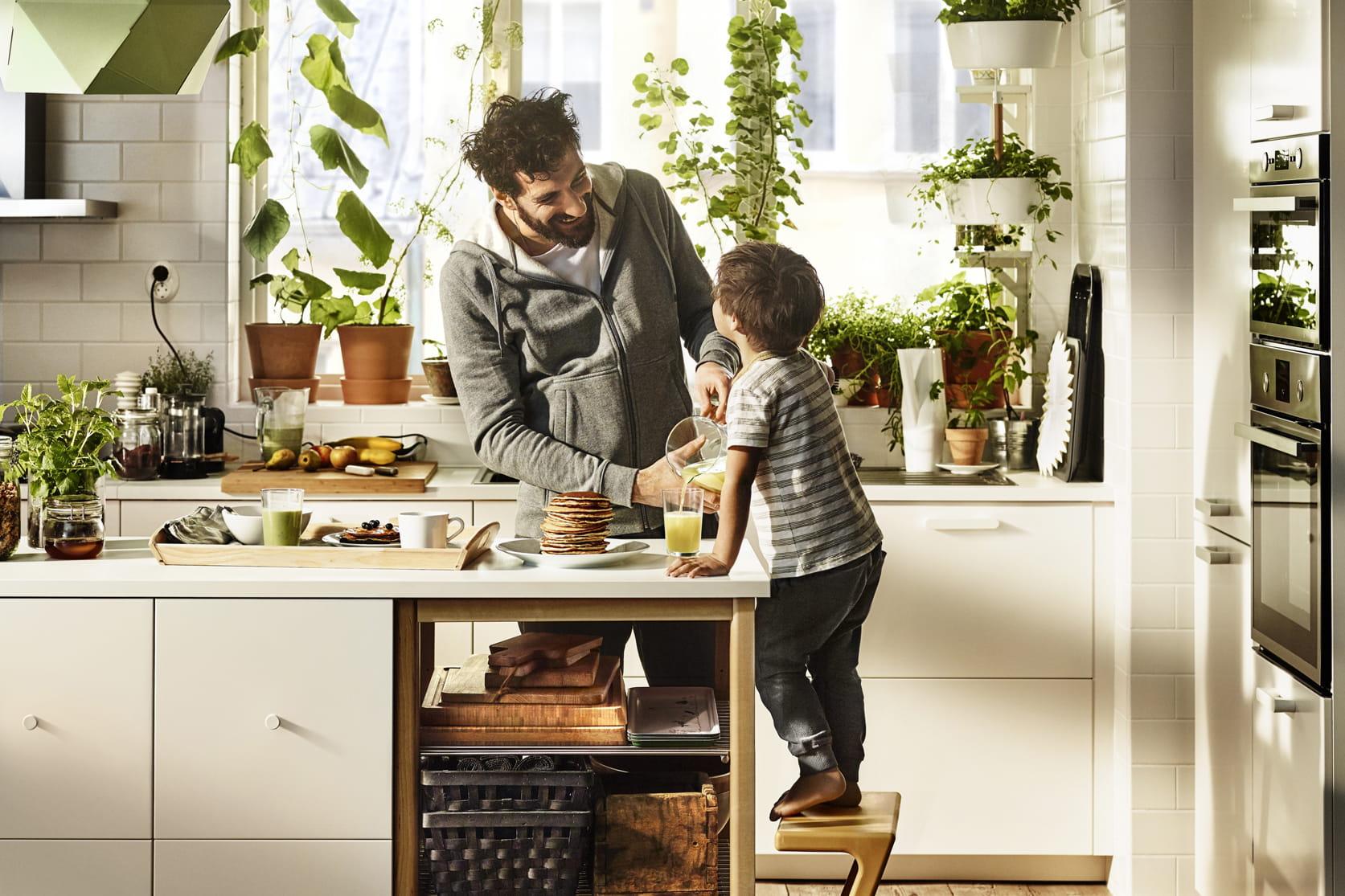 avant premi re la cuisine de 2016 selon ikea journal des femmes. Black Bedroom Furniture Sets. Home Design Ideas