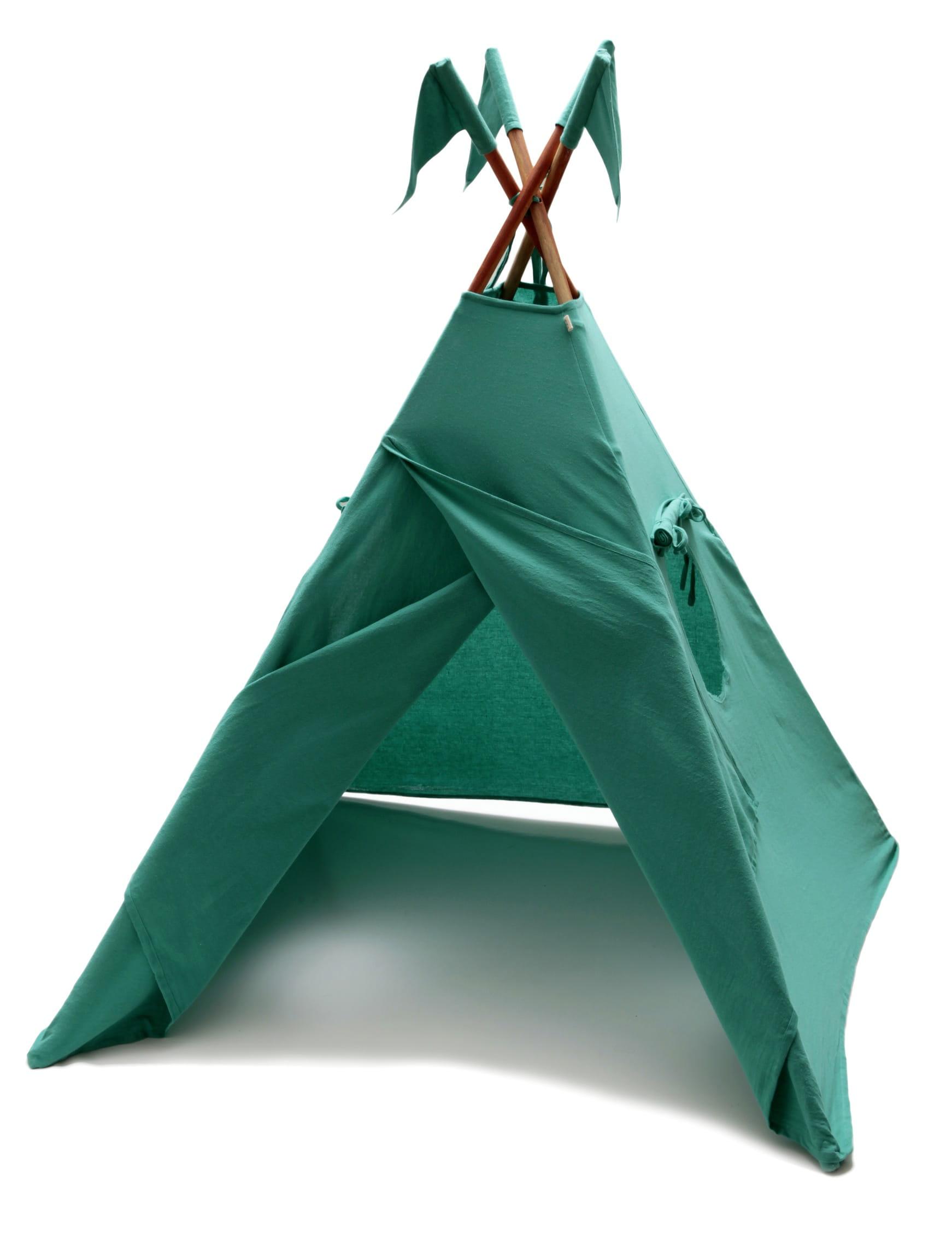 tipi vert numero 74 cabanes et tipis pour enfant tous. Black Bedroom Furniture Sets. Home Design Ideas