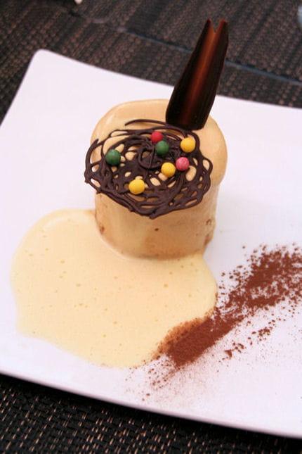 Parfait glac la chicor e sabayon la 1664 ghislaine arabian cuisine pour kronenbourg - Petit pot ghislaine arabian ...