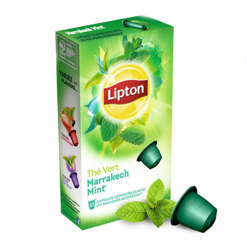 th s et infusions en capsules de lipton nouveaut s culinaires 2015 les produits shopper. Black Bedroom Furniture Sets. Home Design Ideas