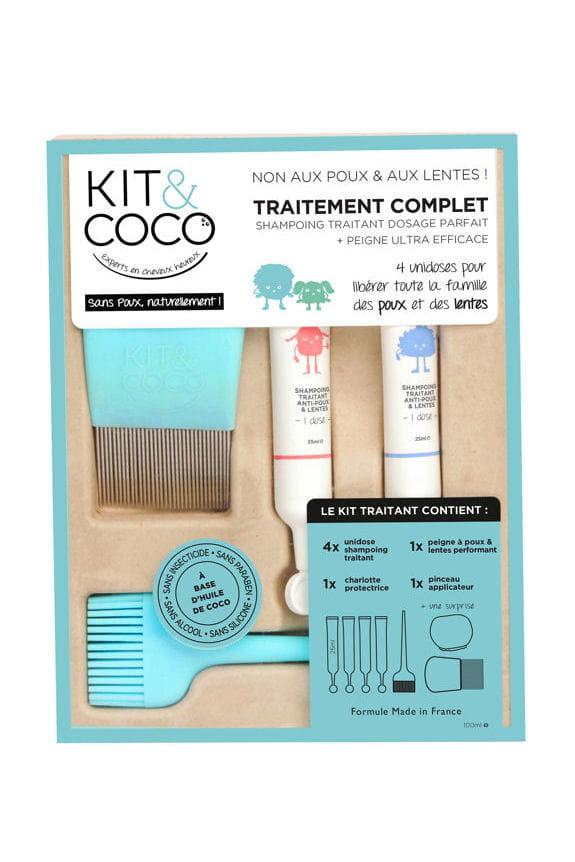 Traitement complet anti poux et lentes de kit coco for Salon de coiffure anti poux