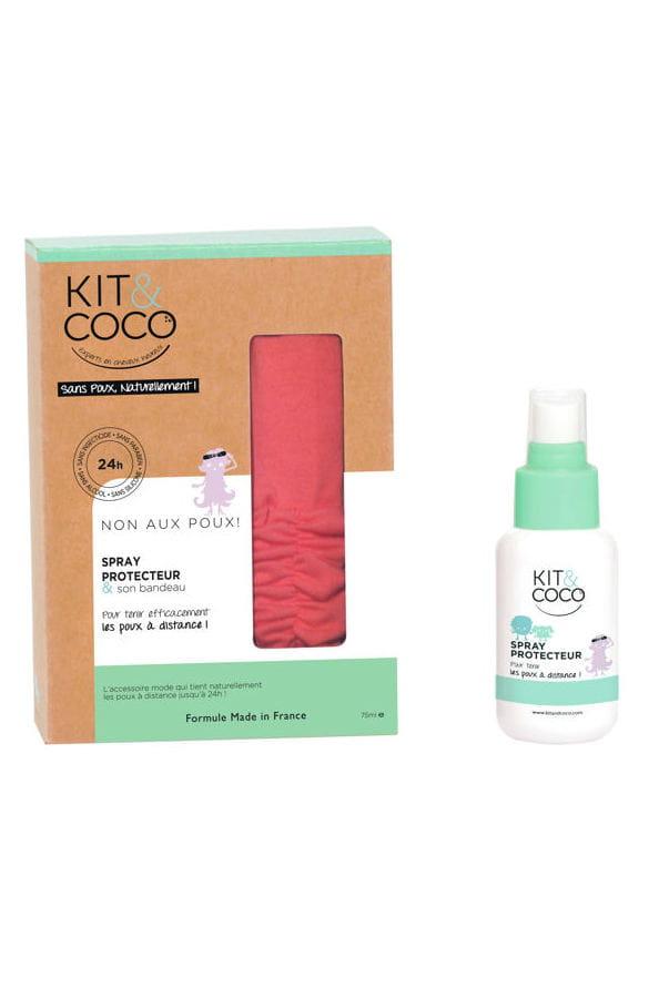 Spray protecteur anti poux et bandeau de kit coco poux for Salon de coiffure anti poux