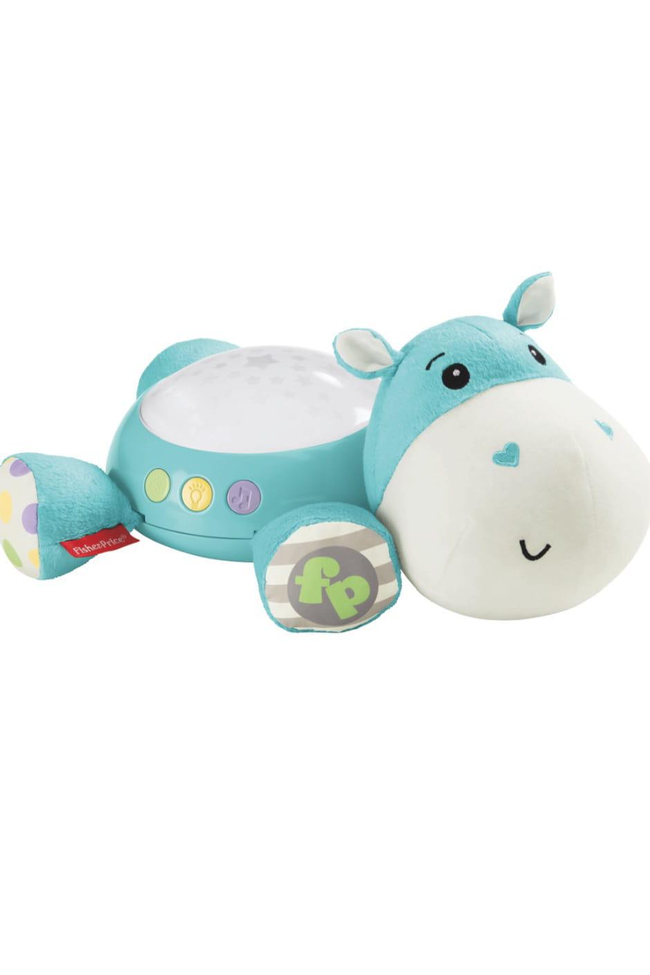Peluche musicale hippo douce nuit de fisher price des - Veilleuse pour salon ...