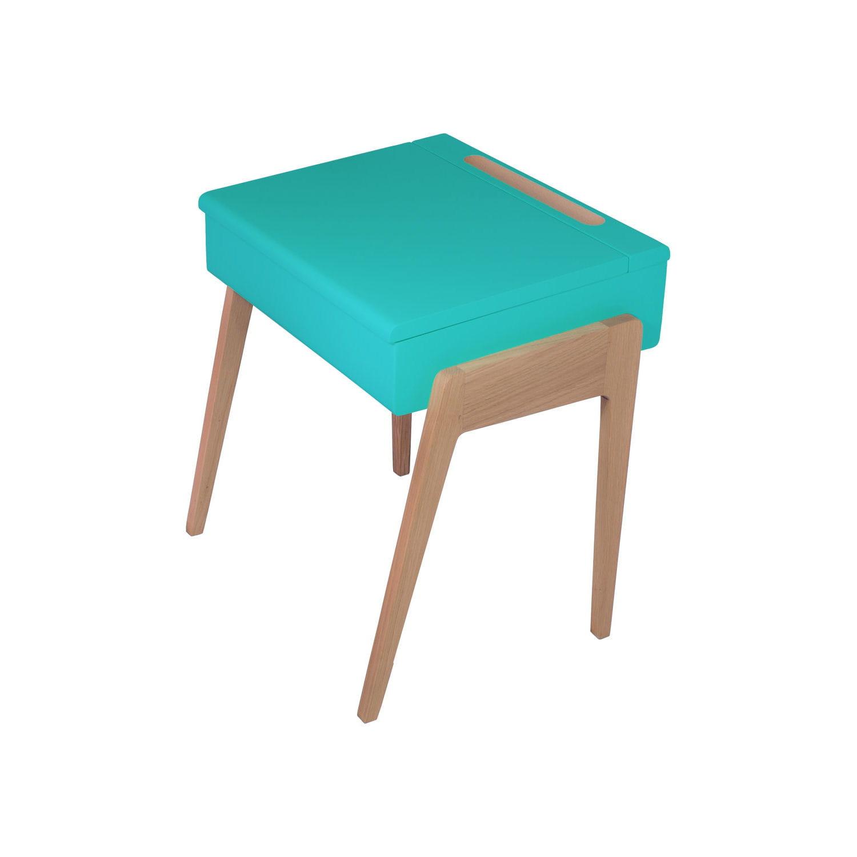 pupitre bleu canard jungle by jungle chambre d 39 enfant bureaux originaux pour travailleurs en. Black Bedroom Furniture Sets. Home Design Ideas