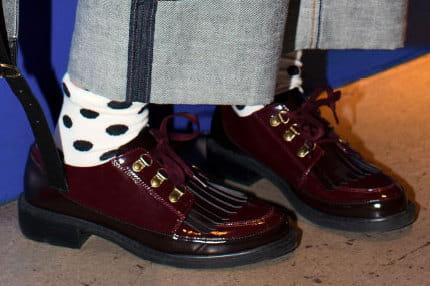 des chaussures loafers franges pour un look preppy boyish journal des femmes. Black Bedroom Furniture Sets. Home Design Ideas