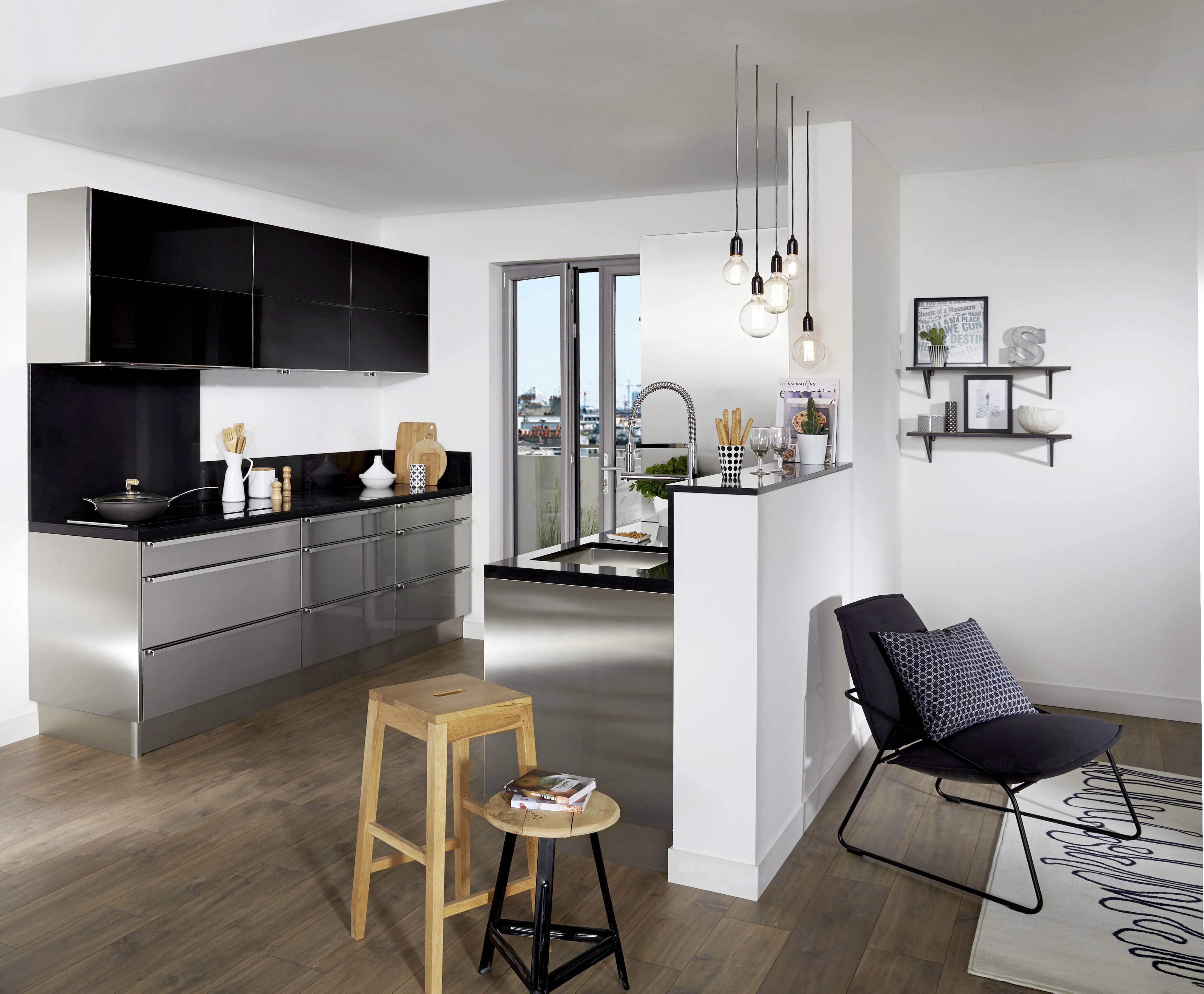 cuisine inox fr d ric anton pour lapeyre des cuisines modernes d exception pour fins gourmets. Black Bedroom Furniture Sets. Home Design Ideas