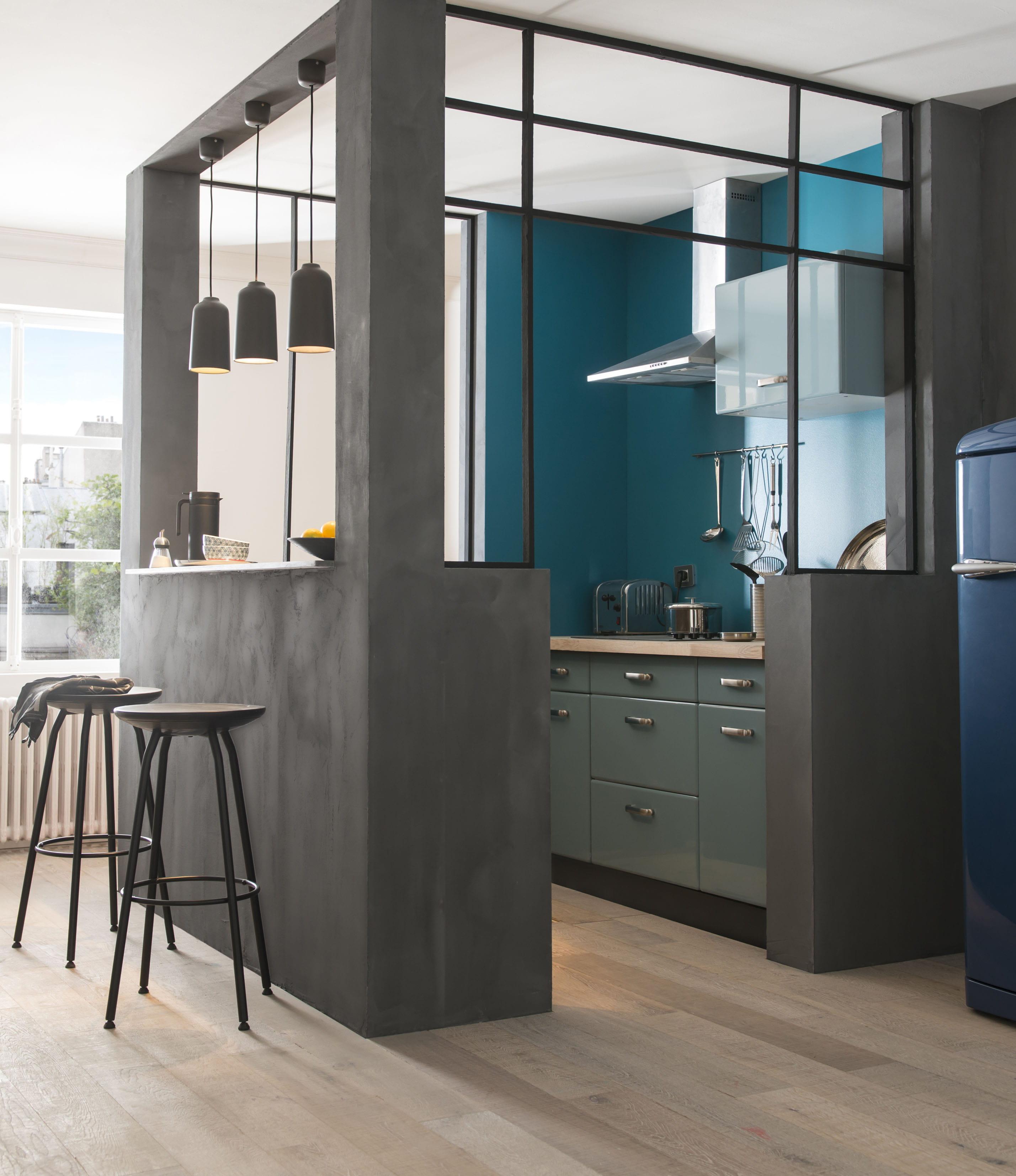 cuisine r tro sixties cooke lewis chez castorama des. Black Bedroom Furniture Sets. Home Design Ideas