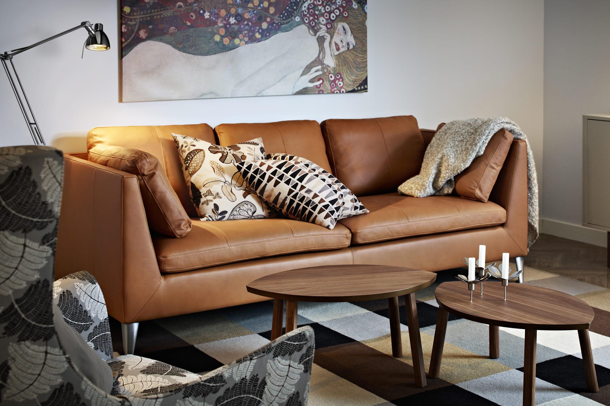 Les canap s en cuir sous les projecteurs journal des femmes - Canape le plus confortable ...