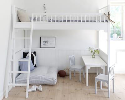 lit mezzanine d 39 oliver furniture chez style scandinave. Black Bedroom Furniture Sets. Home Design Ideas