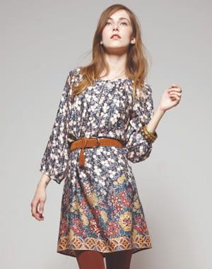 Boh me les robes tendance de la saison c 39 est ici journal des femmes - Robe bleue comptoir des cotonniers ...