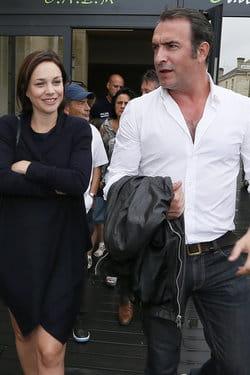 Jean dujardin et nathalie p chalat leur mariage menac for Dujardin vetements