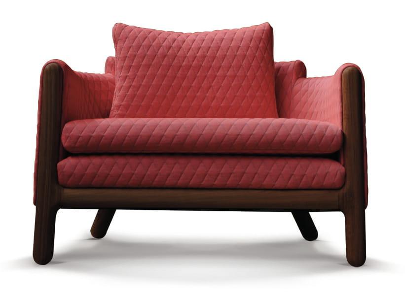 pompon fauteuil matelass de didier versavel pour d sio. Black Bedroom Furniture Sets. Home Design Ideas