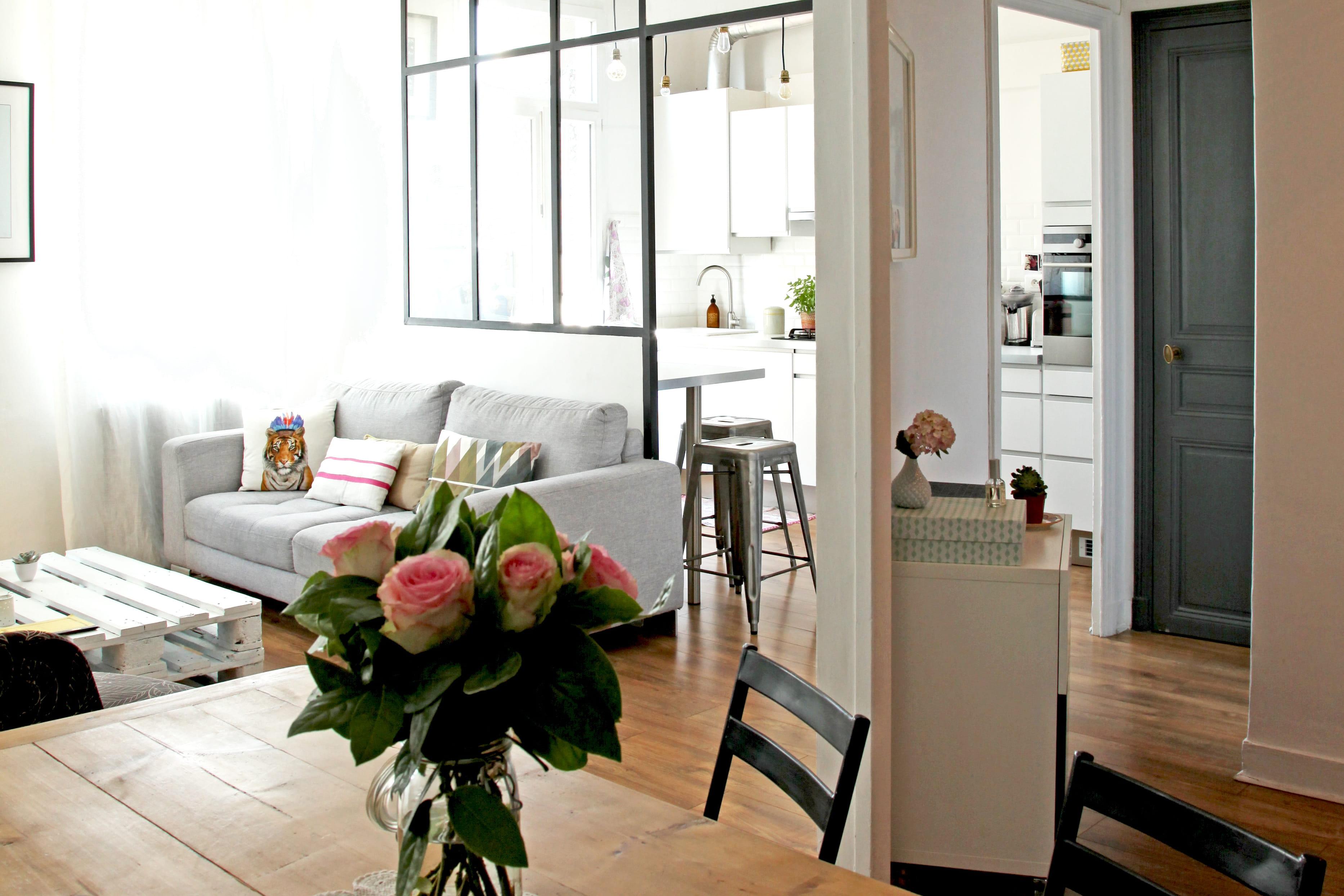 Petit espace 15 astuces pour le faire para tre plus for Amenagement salon cuisine petit espace